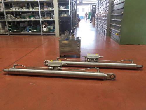 Centralina e cilindri acciaio inox